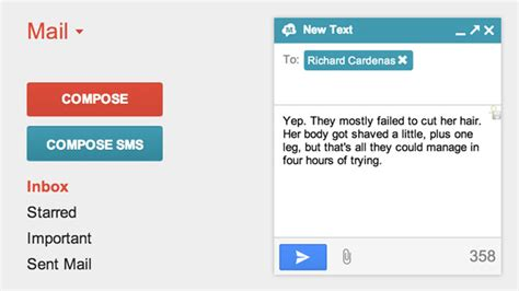 GText Syncs Your Android's Text Messages Directly With