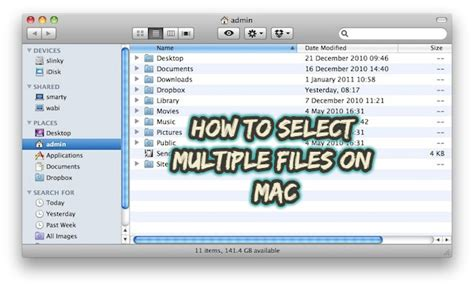 How to Select Multiple Files on Mac? - AndowMac