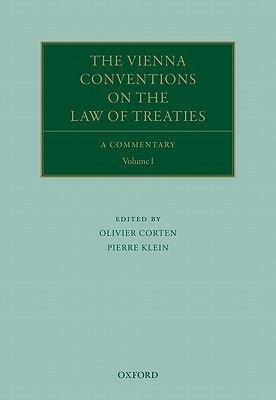 The Vienna Conventions on the Law of Treaties: A