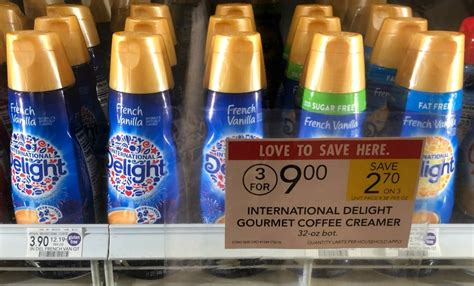 International Delight Coffee Creamer Just $1 At Publix