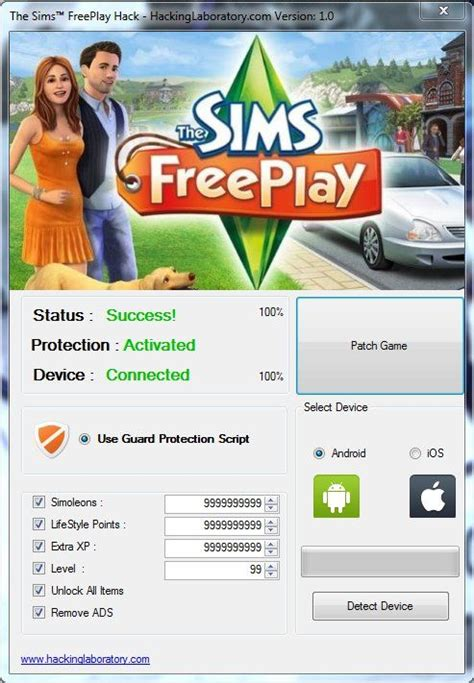 The sims free play hack cheats Download Best Tools for iOS