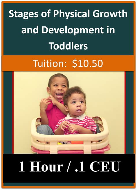 Stages of Physical Growth and Development in Toddlers