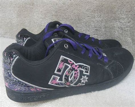 DC Shoes Womens Cosmo SE Sneakers 302950 Size 11 Black