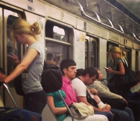 Lookalikes spotted on public transport that are wearing