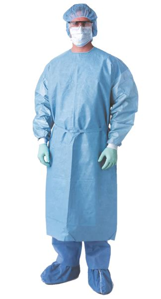 Chemotherapy Protective Gown, Hook-and-loop Neck | Dufort