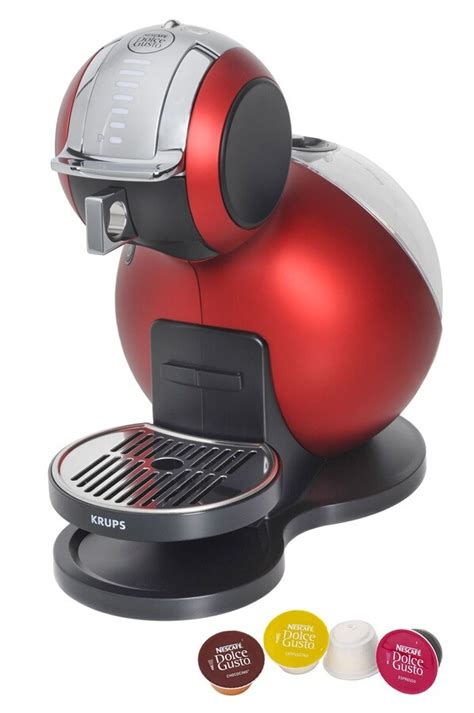 Expresso Krups NESCAFE DOLCE GUSTO MELODY ROUGE YY1651FD