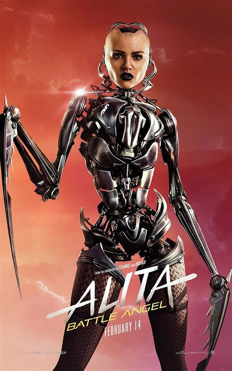Alita: New Character Posters - Hero Collector