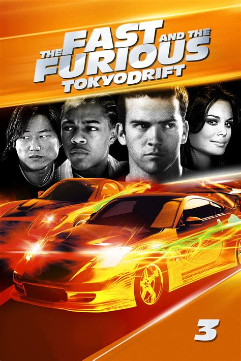 The Fast and the Furious: Tokyo Drift (2006) - Posters