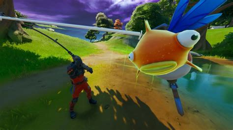 Fortnite's Mythic Goldfish is real and might be the