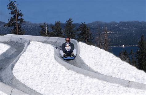 The Alpine Slide At Magic Mountain: The Winter Slide You