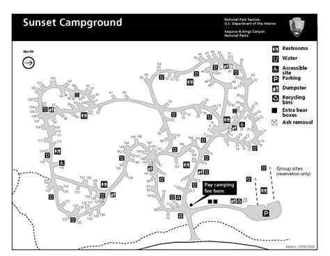Sunset Campground - Sequoia & Kings Canyon National Parks