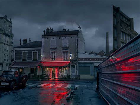 Moody Nighttime Photographs of Paris Cafes | Thought & Sight