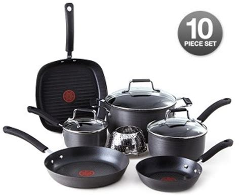 Jamie Oliver T-fal Cookware 10 Piece Set - Hook of the Day
