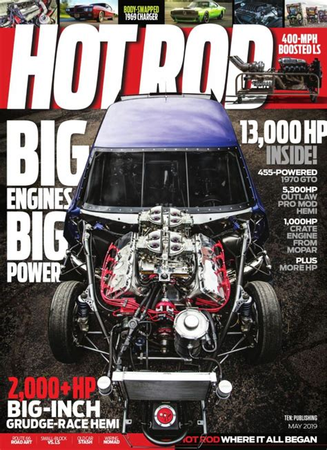 Hot Rod-May 2019 Magazine - Get your Digital Subscription