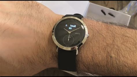 Nokia Steel HR 40mm Unboxing and First Look! - YouTube