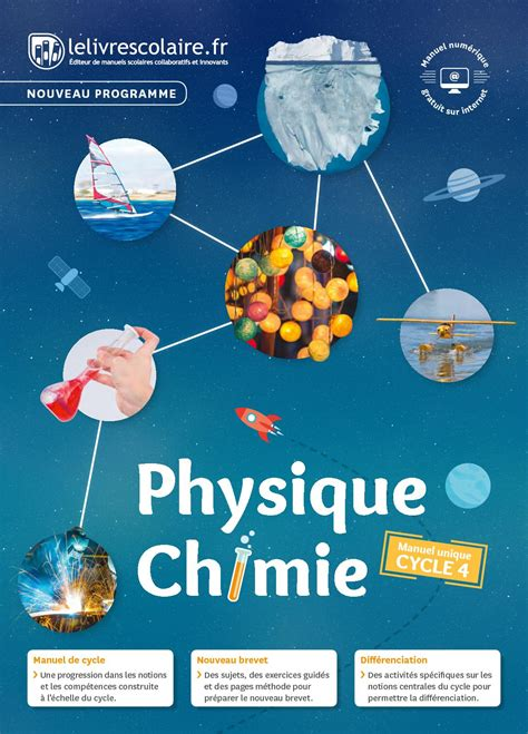 Calaméo - PHYSIQUE-CHIMIE CYCLE 4