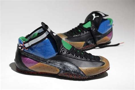 Funky-Colored Bike Shoes : PUMA Cycling to Mars Sneakers