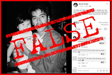 VERA FILES FACT CHECK: Post showing Vic Sotto photo with
