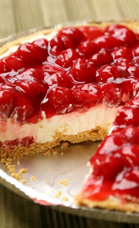 Cherry Cheesecake Pie, A Famous Family Tradition