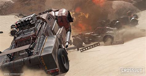 Crossout is out now for PC, PS4 and Xbox One - TGG