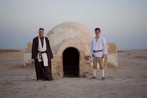Took a father-son trip to Tatooine yesterday, it was well